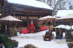 Christmas market at Jamtli in Østersund, Sweden