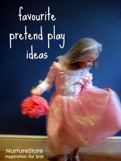 Great ideas for pretend play and dressing up for kids
