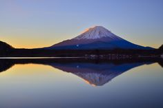 Mt Fuji on Mirror by Takashi on 500px