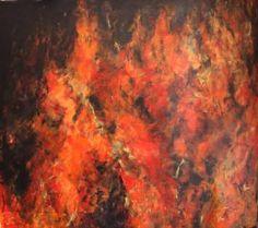 Buy IL FUOCO, FONTE DI LUCE E DI CALORE, a Acrylic on Canvas by Massimo Onnis from Italy. It portrays: Fantasy, relevant to: red, fire, heat, landscape, light IL FUOCO, FONTE DI LUCE E DI CALORE ACRILICO SU TELA 175X194