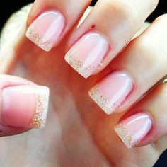 My Vegas nails! #vegas #glitter #acrylics