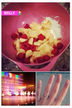 Reilly's Instagram diary: baking, dance recitals and a new ring!