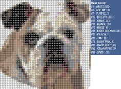 english bulldog pattern Graph Crochet, Crochet Patterns, Caramel Corn, Sewing Stitches, Dog Pattern, Beaded Animals, English Bulldogs, Simplicity Patterns, Bullies