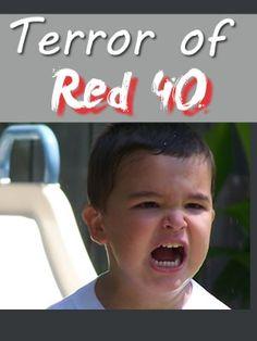 side effects of red dye 40