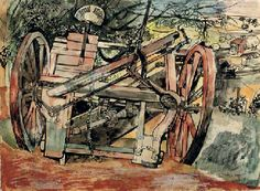 Derelict Machinery Print by John Minton. Limited edition giclée print numbered from an edition of Taken from the original pen and ink and watercolour John Minton, History Of Illustration, Royal College Of Art, Vintage Artwork, Landscape Art, Illustrators, Art Prints, Drawings, Paintings