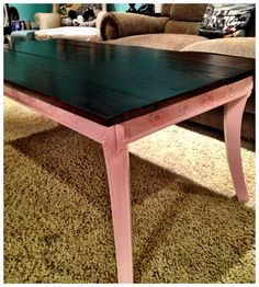 My coffee table I repurposed