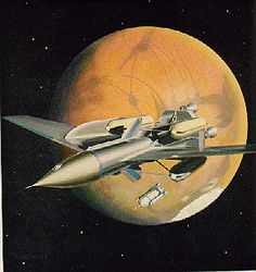 illustrated images of spacecraft from 1950's - Google Search