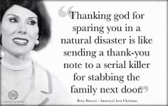 Thanking God for sparing you in a Natural Disaster