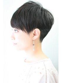 レンジシキチジョウジ (RENJISHI KICHIJOJI) 大人女性の丸みある刈り上げ2横顔【RENJISHIKICHIJOJI渡邊陽平】