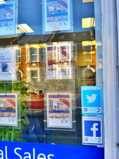 Another great shot sent in by one of our customers using their agency window to full effect to help turn their footfall into followers #tyfif #logotag #smmarketing Estate Agents, West London, Great Shots, Followers, Action, Windows, House, Home Decor, Group Action
