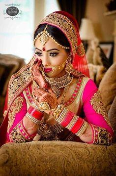 7. #pretty in Pink - 20 magnifiques #tenues de mariage #indien... → #Wedding