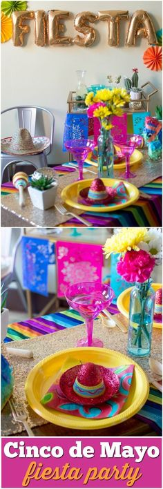 Cinco de Mayo Party Ideas & Decor | theblueeyeddove.com