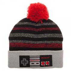 Nintendo Controller EMB POM Beanie: Vendor: Nintendo Type: Price: 25.50 Keep cozy in the Ice Land levels in Super Mario Bros. 3 in this…