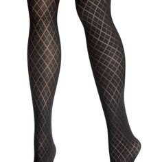 Diamond Tight-Plus Size Tights-Avenue
