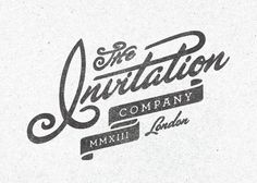Saved by Kendrick Kidd (kendrickkidd). Discover more of the best Type, Invitation, Company, and Script inspiration on Designspiration Retro Graphic Design, Typo Design, Brand Identity Design, Typography Design, Print Design, Branding Design, Graphic Art, Vintage Typography, Typography Letters