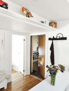 Simplicity And Diversity In A Stylish Small Attic Apartment