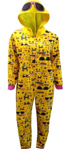 WebUndies.com Just Chillin' Emoji Onesie Pajama