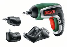Bosch Akku Schrauber IXO IV Set mit Winkel- und Exzenteraufsatz Phillips Screwdriver, Ebay, Auburn, Mirrors, Tech, Number, Amazon, Led Lights Bulbs, Home