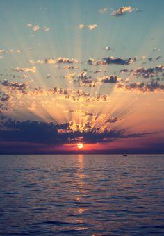Beach sunset #Wow