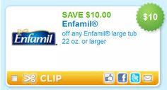 Enfamil Infant Formula Milk-Based With Iron, Bottles, 8 Ounce 6 Count (Pack of 4) Health and Beauty.