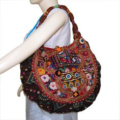 67662830f816 ... Tiwariboho bohemian banjara vintage bags · TRIBAL VINTAGE BANJARA  HANDBAGS Vintage tribal banjara fabric recycled and patched up with cross  stitches and