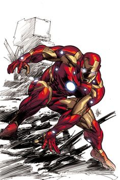 Iron Man by Mike Deodato Jr
