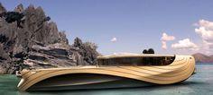 "Elegant Yacht Concept ""Cronos"""