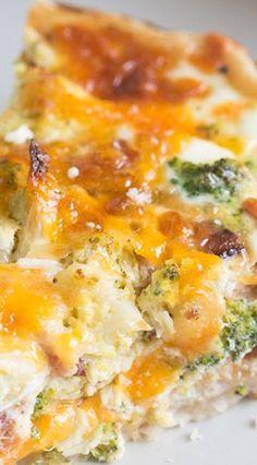 Broccoli Cheese Quiche                                                                                                                                                                                 More