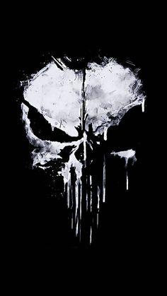 Ps Wallpaper, Scary Wallpaper, Black Phone Wallpaper, Batman Wallpaper, Skull Wallpaper Iphone, Cellphone Wallpaper, Punisher Comics, Punisher Logo, Punisher Netflix
