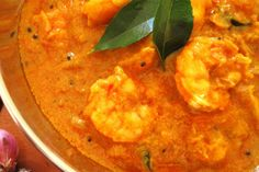 A popular and traditional Kerala style Prawn Curry with Coconut Milk.