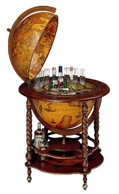 Bar in a globe? Must have.