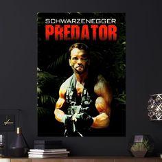 Metal Poster Predator Poster Painting