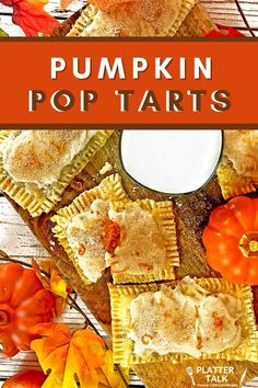 Be sure and make this fun recipe for pumpkin pop tarts with your kids today! Follow all of our boards for more easy kids recipes!