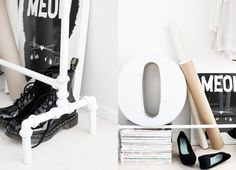 More from Home Hacks It doesn't look like much, but PVC pipe is an incredibly versatile building material that can be used to create furniture and awesome amenit The Family Handyman, Pvc Pipe Projects, Home Projects, Projects To Try, Diy Coat Rack, Coat Racks, Diy Rack, Paint Organization, Brain Craft