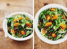 Butternut Salad with Cider Dressing // The Sprouted Kitchen. Made this last night - delicious fall/winter salad