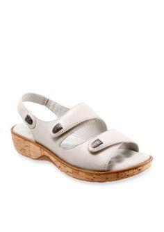 Softwalk Off White Bolivia Sandal
