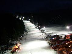 Borovets, Martinovi baraki ski slopes by night Snowboarding, Skiing, Ski Pass, Ski Season, Ski Slopes, Bulgarian, Seasons, World, Night