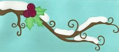 Free winter branch .wpc cutting file for your Pazzles Inspiration® or other electronic cutter!