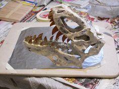 Paper Mache Dinosaur Bones