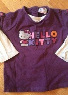 Kaufe meinen Artikel bei #Mamikreisel http://www.mamikreisel.de/kleidung-fur-madchen/lange-pullover/18470105-hello-kitty-pulli-mit-zwei-mini-locher-am-rucken