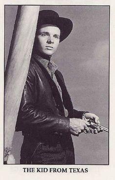 "THE KID FROM TEXAS (1950) - Audie Murphy  as 'William Bonney' (aka ""Billy the Kid"") - Directed by Kurt Neumann - Universal-International - Publicity Still."