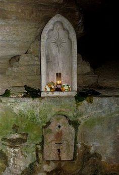 Altars:  #Shrine; Spring Street, Eureka Springs, Arkansas.