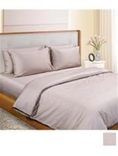 NU COVER Twin Size Duvet Cover Plain A B NU17A149TDTA600 Brown