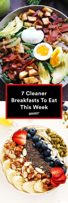 Your morning just got way better. #healthy #breakfast #recipes greatist.com/