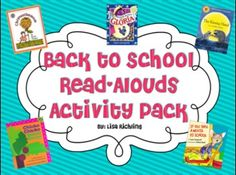 Are you looking for activities to fill that exciting first week of school