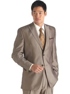Sean John Taupe Suit - Men's Wearhouse