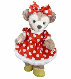 Shellie May Handmade Costume Polka Dot Bloomers with Minnie | eBay