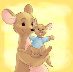 Disney Party Ideas: Winnie the pooh party Roo Winnie The Pooh, Winnie The Pooh Quotes, Pooh Bear, Cartoon Pics, Cute Cartoon, Dibujos Cute, Eeyore, Peter Rabbit, Disney Drawings