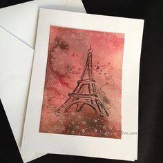 Original Hand-drawn Valentine Art Cards by Amanda Christine Shelton