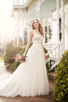 From sweeping backs to modern silhouettes, this Martina Liana Fall 2016 Collectiontakes us on a journey of love! Inspired by the romance of a bride's love story, each style has intricate details that brings romance into each dress. For classic brides, glamorous brides and even boho brides, this Martina Liana collection has something special for […]